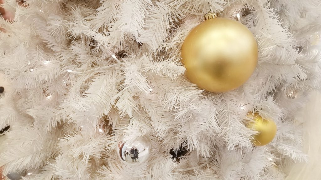 Why White Christmas Trees Turn Yellow